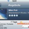 Sonnenklar App für Android und iPhone