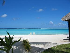 Tahiti Reisen Strand