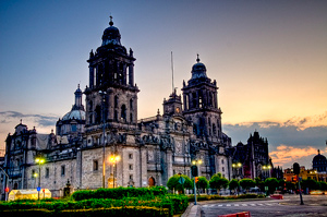 Mexico City Kathedrale (c) F. Diez